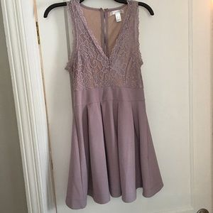 Young woman's party dress